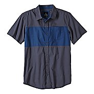 Mens Prana Tiereck Slim Short Sleeve Non-Technical Tops