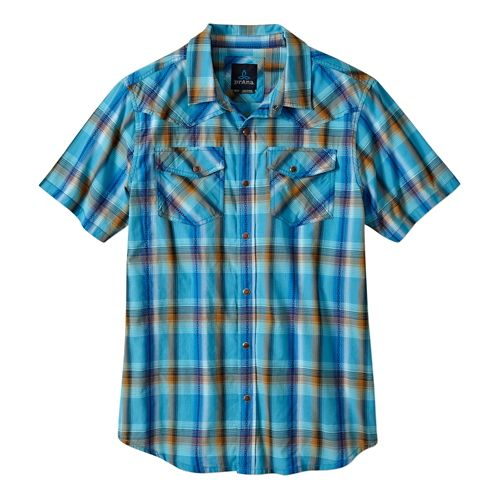 Mens Prana Holstad Short Sleeve Non-Technical Tops - Aquavite XXL