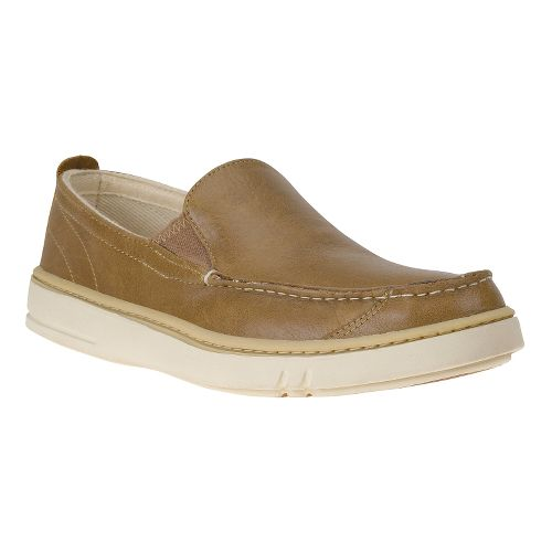 Mens Timberland EK Hookset Slip-On Casual Shoe - Light Brown 8