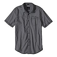 Mens Prana Patras Slim Short Sleeve Non-Technical Tops