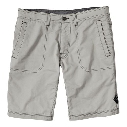 Mens Prana Outpost Unlined Shorts - Greystone 33