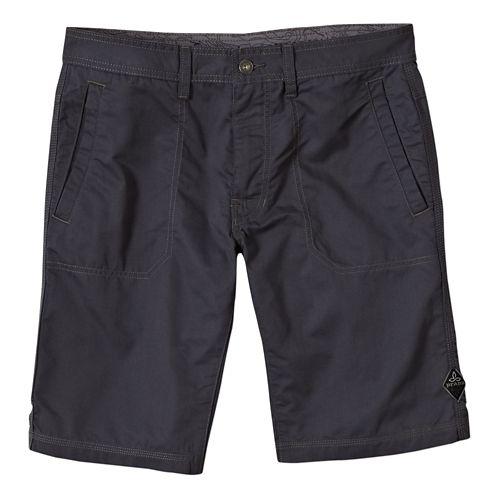 Mens Prana Outpost Unlined Shorts - Coal 28