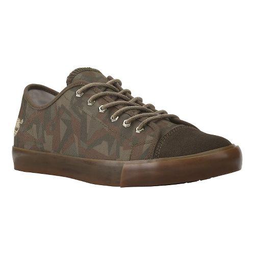 Mens Timberland EK Glastenbury Casual Shoe - Camo Canvas 7