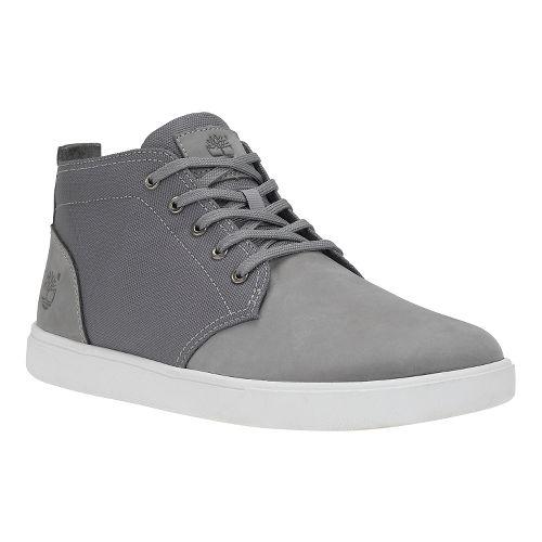 Mens Timberland Groveton Chukka Casual Shoe - Grey Nubuck 11
