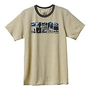 Mens Prana Alaska Short Sleeve Non-Technical Tops