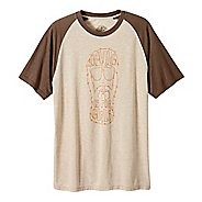 Mens Prana Beard Short Sleeve Non-Technical Tops