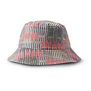 Womens Prana Sea Shells Bucket Headwear - Carmine Desert Geo