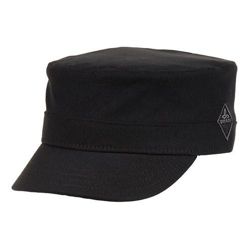 Mens Prana Zion Cadet Headwear - Black L/XL