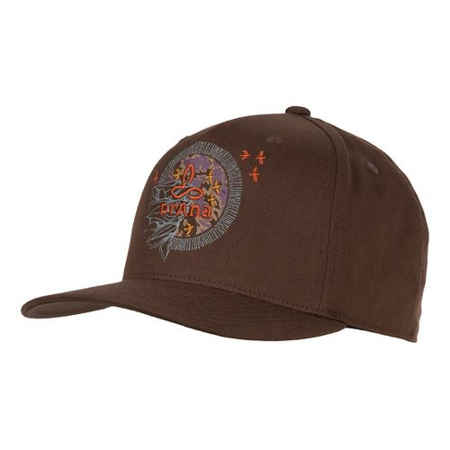 Mens Prana Hunter Ball Cap Headwear - Brown