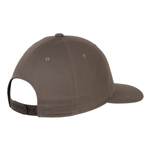 Mens Prana Logo Ball Cap Headwear - Mud