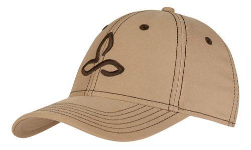 Mens Prana Zion Ball Cap Headwear - Dark Khaki