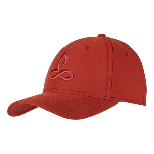 Mens Prana Zion Ball Cap Headwear - Brick