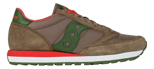 Mens Saucony Jazz Original Casual Shoe - Brown/Green 9.5
