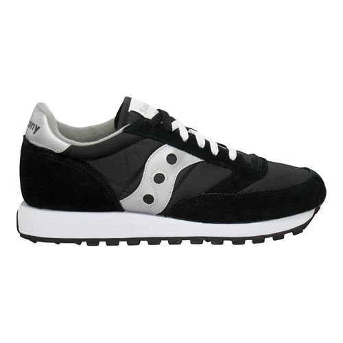 Mens Saucony Jazz Original Casual Shoe - Black/Silver 10.5