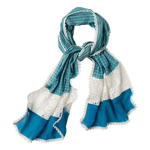 Prana Maricela Scarf Headwear - Mosaic Blue