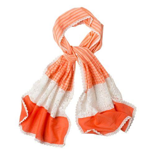 Prana Maricela Scarf Headwear - Glowing Coral
