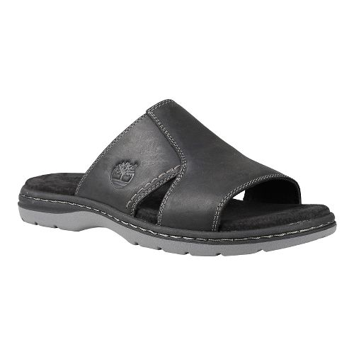 Mens Timberland EK Altamont 2.0 Slide Sandals Shoe - Black Full Grain 11