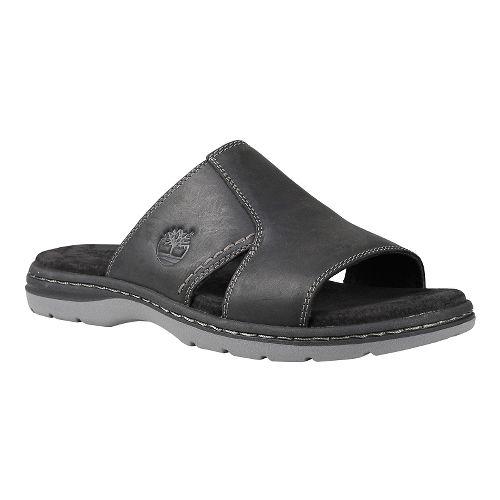 Mens Timberland EK Altamont 2.0 Slide Sandals Shoe - Black Full Grain 7