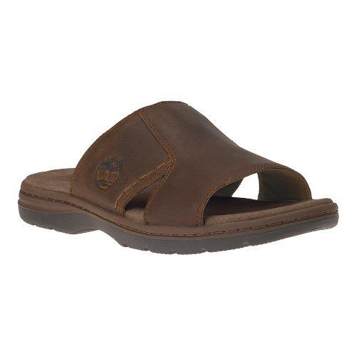 Mens Timberland EK Altamont 2.0 Slide Sandals Shoe - Brown Full Grain 9