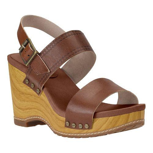 Womens Timberland EK Tilden Double Strap Casual Shoe - Light Brown 10