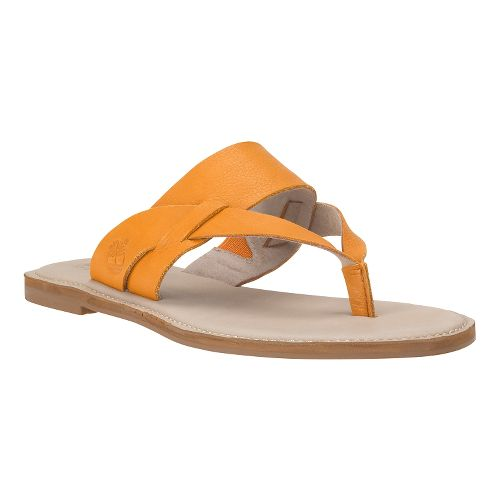 Womens Timberland EK Sheafe Thong Sandals Shoe - Apricot Buff Gluvy 9