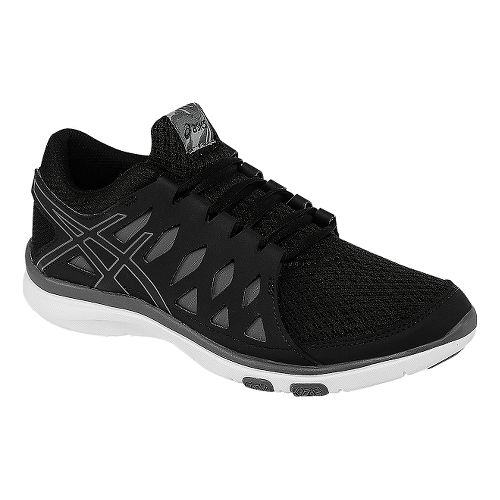 Womens ASICS GEL-Fit Tempo 2 Cross Training Shoe - Black/Carbon 6.5