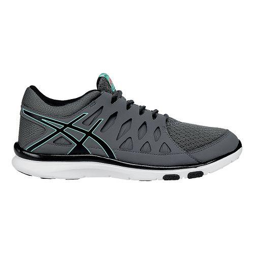 Womens ASICS GEL-Fit Tempo 2 Cross Training Shoe - Black/Mint 10