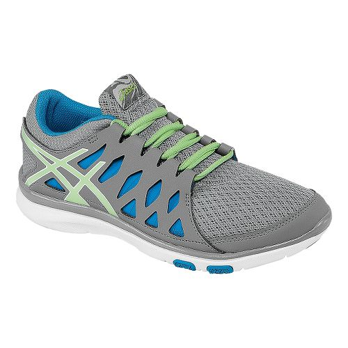 Womens ASICS GEL-Fit Tempo 2 Cross Training Shoe - Frost/Pistachio 12