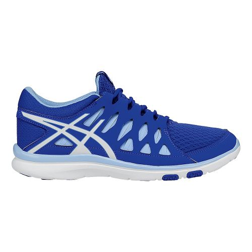 Womens ASICS GEL-Fit Tempo 2 Cross Training Shoe - Blue/White 9.5