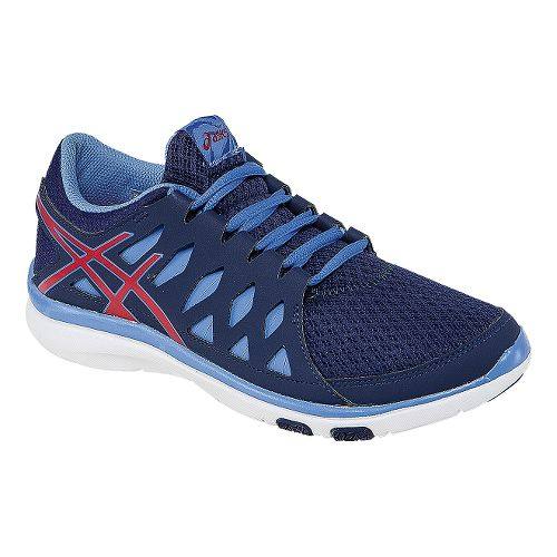 Womens ASICS GEL-Fit Tempo 2 Cross Training Shoe - Indigo Blue/Hibiscus 10