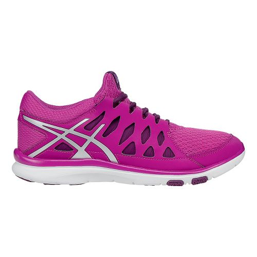 Womens ASICS GEL-Fit Tempo 2 Cross Training Shoe - Berry/Silver 7.5