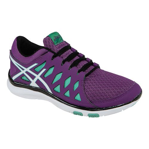 Womens ASICS GEL-Fit Tempo 2 Cross Training Shoe - Grape/Aqua Mint 5