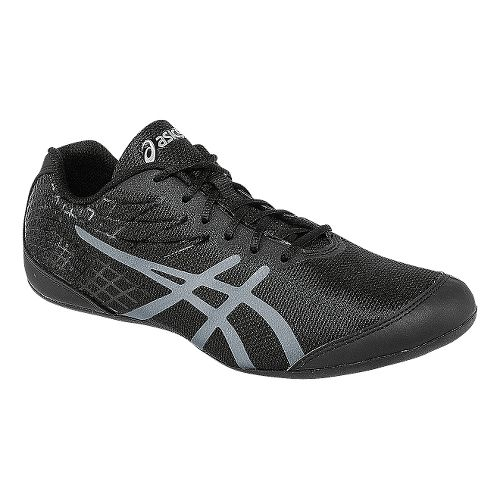 Womens ASICS Rhythmic 3 Cross Training Shoe - Black/Silver 10.5