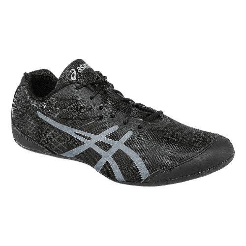 Womens ASICS Rhythmic 3 Cross Training Shoe - Black/Silver 7
