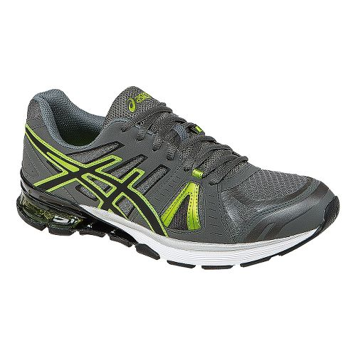 Mens ASICS GEL-Defiant 2 Cross Training Shoe - Charcoal/Lime Punch 8.5