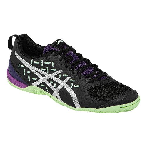 Womens ASICS GEL-Fortius 2 TR Cross Training Shoe - Black/Pistachio 7.5