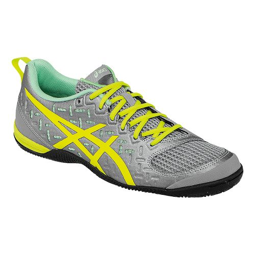 Womens ASICS GEL-Fortius 2 TR Cross Training Shoe - Light Grey/Yellow 7.5