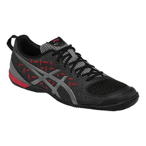 Mens ASICS GEL-Fortius 2 TR Cross Training Shoe - Black/Fiery Red 11.5