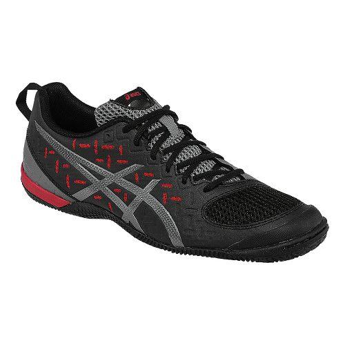 Mens ASICS GEL-Fortius 2 TR Cross Training Shoe - Black/Fiery Red 7