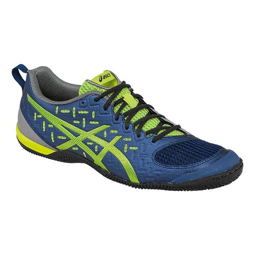 Mens ASICS GEL-Fortius 2 TR Cross Training Shoe - Indigo Blue/Lime 14