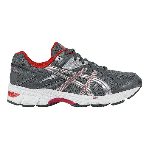 Mens ASICS GEL-190 TR Cross Training Shoe - Granite/Fiery Red 8