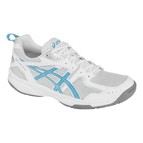 Womens ASICS GEL-Acclaim Cross Training Shoe - Silver/Blue Grotto 5