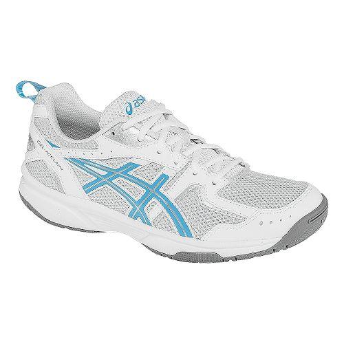 Womens ASICS GEL-Acclaim Cross Training Shoe - Silver/Blue Grotto 8