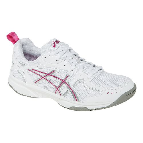 Womens ASICS GEL-Acclaim Cross Training Shoe - White/Pink 7.5