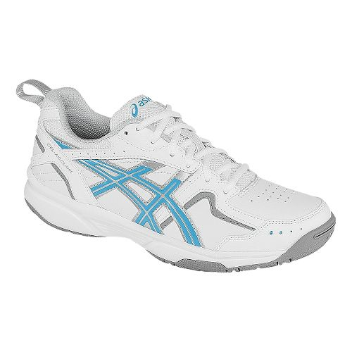 Womens ASICS GEL-Acclaim Cross Training Shoe - White/Sky Blue 11.5