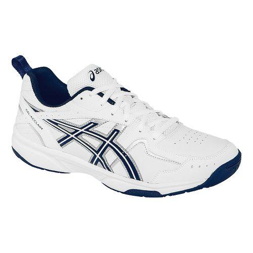 Mens ASICS GEL-Acclaim Cross Training Shoe - White/Navy 10.5