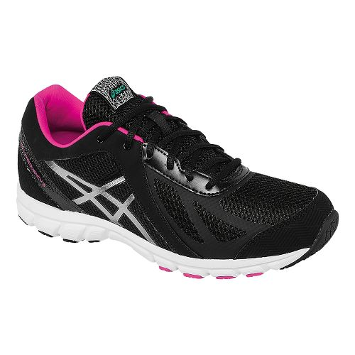 Womens ASICS GEL-Frequency 3 Walking Shoe - Black/Pink 12