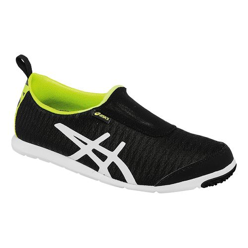 Womens ASICS Metrolyte 2 Slip On Walking Shoe - Black/White 11