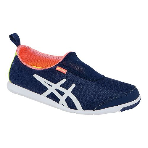 Womens ASICS Metrolyte 2 Slip On Walking Shoe - Navy/White 11.5