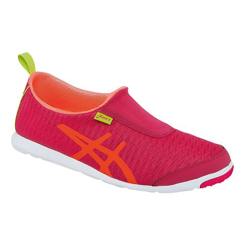 Womens ASICS Metrolyte 2 Slip On Walking Shoe - Raspberry/Mango 11